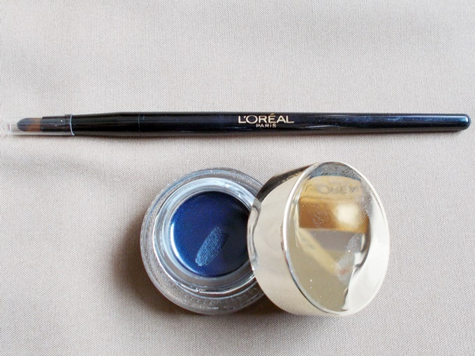 Loreal Paris Super Liner Gel Intenza in Sapphire Blue Review (3)