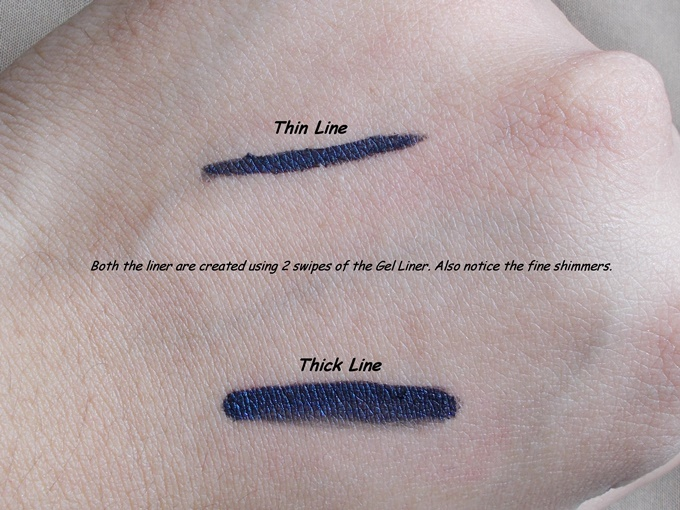 Loreal Paris Super Liner Gel Intenza in Sapphire Blue Review (6)