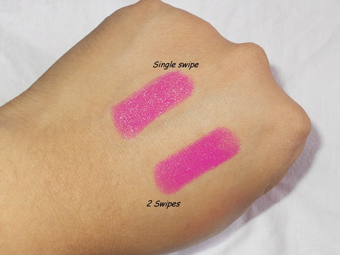 NYX Butter Lipstick In Razzle Review (6)