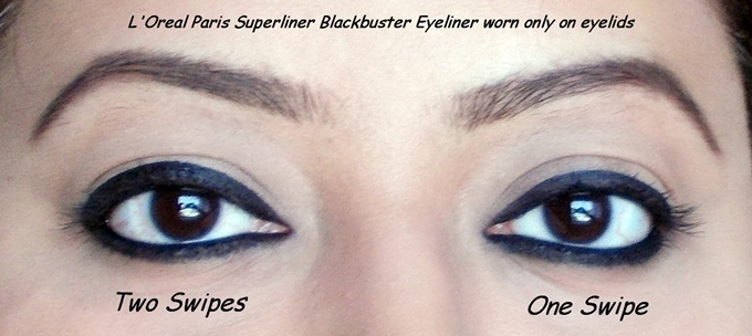LOreal Paris Superliner Blackbuster Eyeliner Review (5)