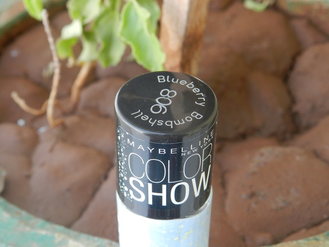 Maybelline Go Graffiti Color Show in Blueberry Bombshell Review (3)