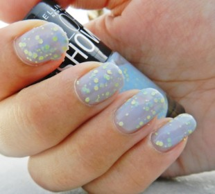 Maybelline Go Graffiti Color Show in Blueberry Bombshell Review
