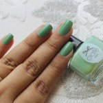 Ciaté Nail Polish in Apple & Custard Review