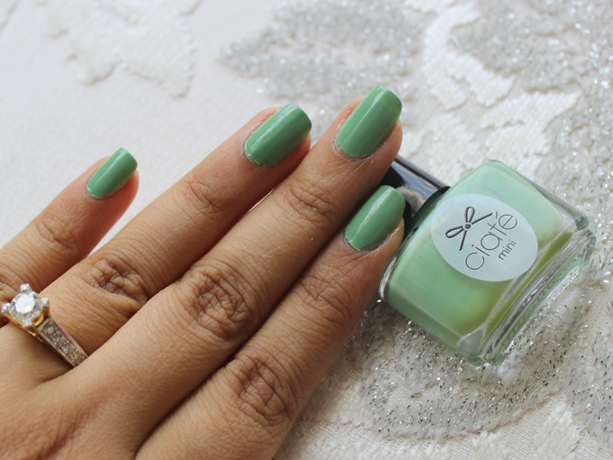 Thumbnail image for Ciaté Nail Polish in Apple & Custard Review