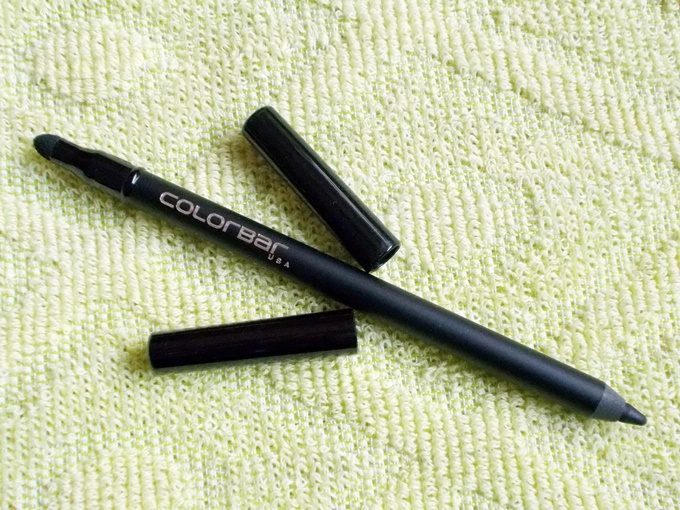 Thumbnail image for Colorbar Just Smokey Kajal In Just Black Review