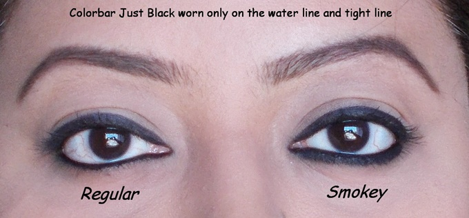 Colorbar Just Smokey Kajal In Just Black Review (4)