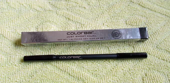 Colorbar Just Smokey Kajal In Just Black Review (5)