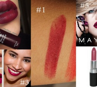 The Vampy Lip : 5 Lip colors to try for Indian skintones