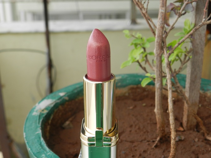 Thumbnail image for L'Oreal Paris Color Riche Lipstick in Rose Perle Review