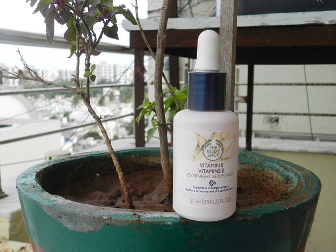 Thumbnail image for The Body Shop Vitamin E Overnight Serum-In-Oil Review