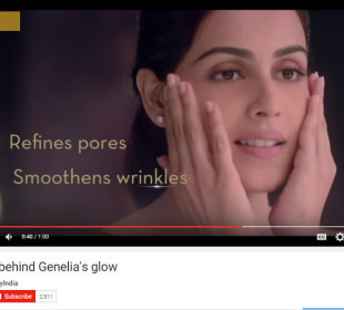 Genelia stars in the new Olay Video