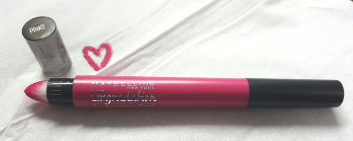 Post image for Maybelline Lip Gradation Lip Colour in Pink 2
