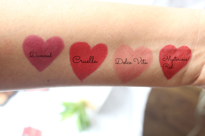 swatches (all shades)