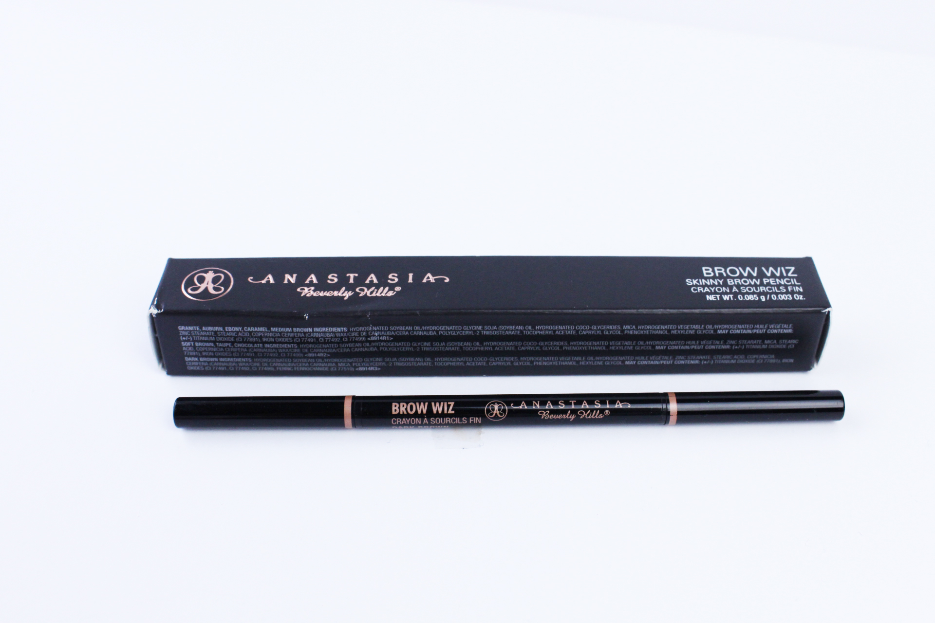 Anastasia Beverly Hills Brow Wiz Dark Brown Review Peachesandblush