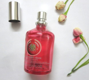 The Body Shop Strawberry Eau De Toilette Review
