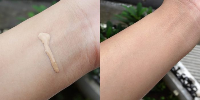 foundation blend swatch