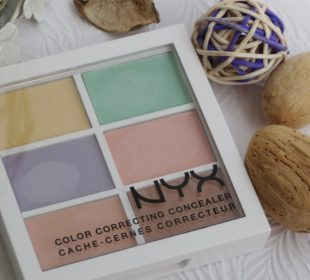 NYX Color Correcting Concealer Palette : Swatches and Review