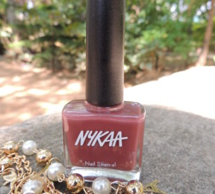 Nykaa Pastel Nail Enamel in Marsala Chai (No. 1) : Review