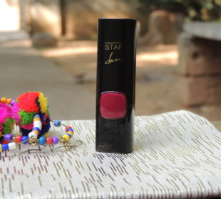 L'Oreal Star Collection Lipstick in Pure Garnet : Review