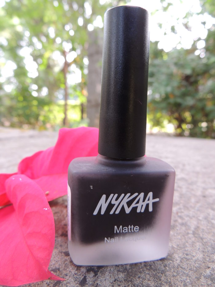 Post image for Nykaa Matte Nail Enamel in Black Cherry Pie : Review