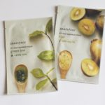 Innisfree It's Real Squeeze Sheet Masks in Green Tea and Kiwi : Review