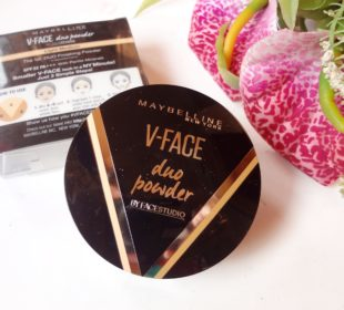 Maybelline V-Face Duo Powder : Swatches and Review