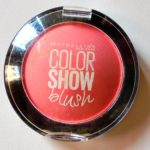 Maybelline Color Show Blush in Fresh Coral : Swatches & Review