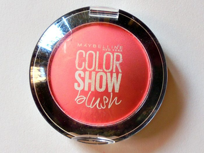 fc2f865ffae Maybelline Color Show Blush in Fresh Coral   Swatches   Review ...