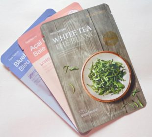 The Face Shop Real Nature White Tea Face Mask : Review