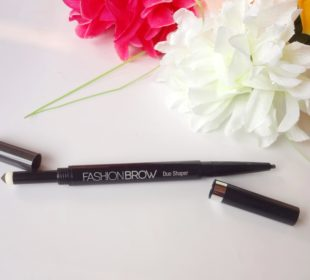 Maybelline Fashion Brow Duo Shaper in Gray : Swatches and Review