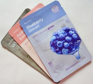 The Face Shop Real Nature Blueberry Face Mask : Review