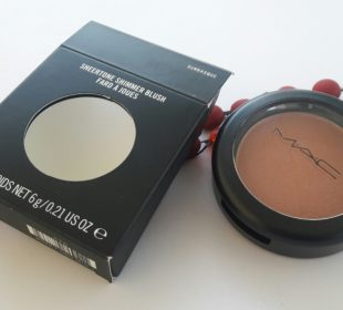 MAC Sheertone Shimmer Blush : Sunbasque
