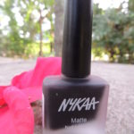 Nykaa Matte Nail Enamel in Black Cherry Pie : Review